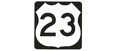4-Laned US Highway 23